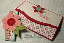 Gift card holders....mainly Stampin' Up / by Sandy Carlson, Stampin' Up Demonstrator