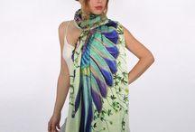 Батик шарфы, палантины