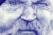 esquisse stylo / ballpoint sketch