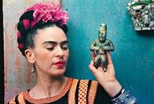 Frida Khalo's closet / After Frida Kahlo died in 1954, her husband Diego Rivera shut her belongings in a bathroom at their Mexico City home, the Blue House – then demanded it be locked until 15 years after his death. In fact, the room wasn't opened until 2004. Ishiuchi Miyako was invited to photograph its intimate contents when they went on show at the Frida Kahlo museum in Mexico City in an exhibition curated by Circe Henestrosa. Here are the artist's beloved belongings, from sunglasses to handpainted corsets