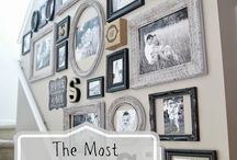 Frame this / Decor ideas with frames  / by Jennifer Evers of Me, Myself and Jen
