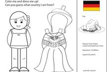 Germany Unit Study / Learning about Germany for Kids and Activities and Lesson Ideas to include in a Germany Unit Study.