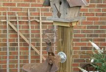 bird houses and birds / by Brenda Burton