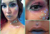 Fantasy beauty makeup