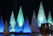 Christmas decor church 2017