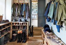 Home : boot room / mud room