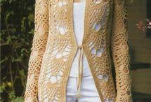 crochet summer autumn cardigan coat