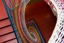 yarn bomb / yarn bombing and fiber art installations
