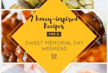 Honey Up Your Summer / From delicious honey-inspired eats to party planning and grilling tips, we've got everything you need to Honey Up Your Summer!