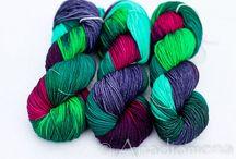 Yarn-y Goodness / Colorful beautiful yarns to drool over. / by Azalea & Rosebud Knits