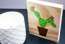 Planty Love / Cactus, Succulent, Fern, Oh My!  / by CRAFTED | DIY + HANDMADE + INTERIORS