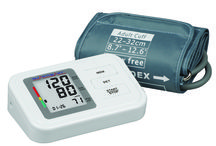 Blood pressure /  blood pressure meter, blood pressure monitor or blood pressure gauge is a device used to measure blood pressure, composed of an inflatable cuff to collapse and then release the artery under the cuff in a controlled manner,