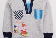 Ropa Niños Peppa Pig / Diseños para niños de Peppa Pig
