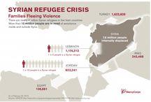 refugee crisis / by Christina Jackson
