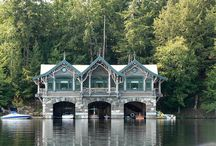 Boat Houses / Places that are both boat docks and lake homes.