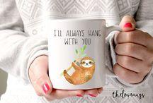 Sloth Gift Ideas