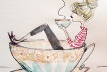 I love coffee, tea, wine and chocolate