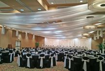 Ceiling Draping / Ceiling Draping For Wedding Party | Linens Rental | by http://www.beyondelegance.com