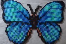 Vlinders strijkkralen