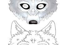 maska wilka