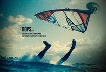 Avec le vent / Sea, ocean, windsurf