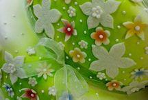 Torte con fiori / Torta primavera