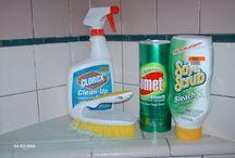 cleaning / by Joslynn Suffel