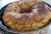 Börek kek haşhaşlı