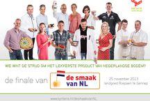 De Smaak van NL 2013 / De Smaak van NL is de verkiezing van het lekkerste product van Nederlandse bodem. In 2013 wordt voor de zesde keer de Smaakvol-erkenning uitgereikt.