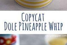 pineapple whip ice cream