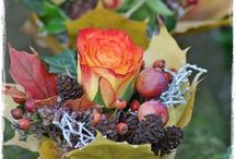 őszi virágkötészet