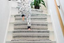 how to decorate internal stairs