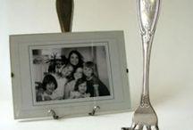 Repose photo avec fourchette