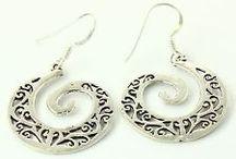 EARRING / 92.5% Sterling Silver Jewelry