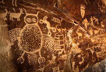 Ancient stuff - petroglyphs