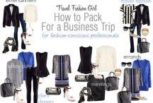 Így pakolj üzleti útra / Ötletek, hogyan készülj fel a következő üzleti utazásra - ruhák, pakolás, kiegészítők