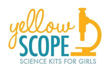 Yellow Scope - About Us / Yellow Scope is a company in Portland, OR that makes science kits for girls.