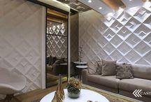 Especial Espelhos / Podem servir para ampliar, iluminar, replicar ou simplesmente para brilhar nos espaços. Veja aqui algumas inspirações que separamos para você de ambientes que optaram aplicar espelhos nas paredes.
