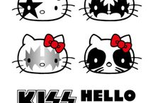 Hello Kitty / Hello Kitty has no mouth, because she smiles with her heart / by Misha Noneyobusiness
