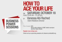 Business Power Sessions - Amideast
