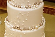 Navy Cream Pearl Wedding