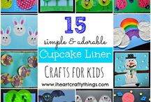 Crafty Things / All things crafty! What to do with paper plates, cupcake liners, pipe cleaners, popsicle sticks and more! / by Little Bins For Little Hands