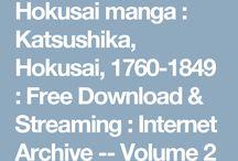 Hokusai works
