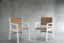 Outdoor furniture for Hawthorne House