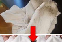 Calcetines y ropa blanca como nuevos