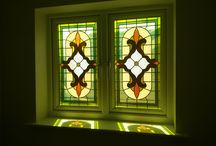 Window Glass Designs / Stained, leaded & bevelled