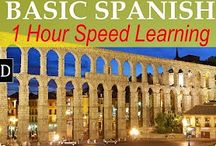Learn Spanish / I am learning another language