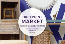 Fall High Point Market / The High Point Market is one of our favorite times of the year! #hpmkt