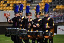 Drumline in actie