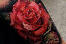 Shoulder tattoo rose